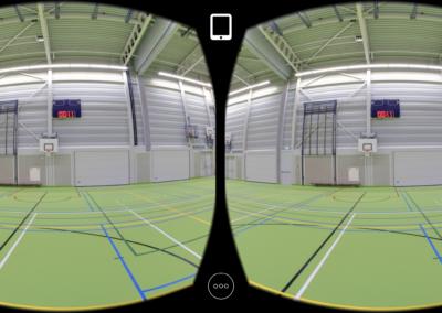 Pulastic AR App - De sportvloer in Virtual Reality bekijken