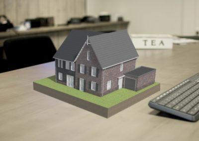 Nijhuis AR App - Digitaal 3D model van een woning
